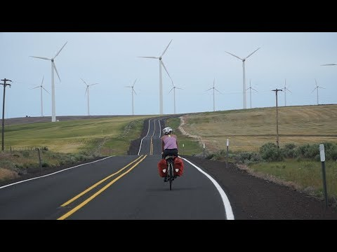 Ryan and Ali Cycle Across America-Ep 4-Lost in the Land of Wind and Wheat