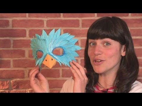 How To Make A Bird Mask