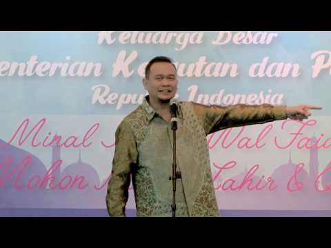 Xxx Mp4 LUCU PARAH Cak Lontong Stand Up Comedy Di Depan Menteri Susi Pudjiastuti Full Video 3gp Sex