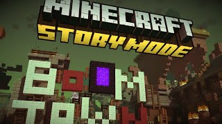 Minecraft Story Mode (Episode 2) -  BoomTown, 1080P, Full Gameplay, No Commentary
