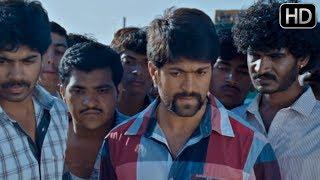 Kannada Movie | Kannada Super Scenes 60 | Yash pushes a man and he dies | Yash,Chikkanna