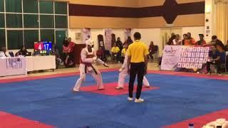 Taekwondo SUKIPT 2018- Muhd Danial vs UTHM