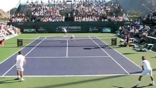 Nadal/Lopez V. Aspelin/Hanley SemiFinals Indian Wells 2010