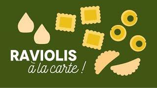 Raviolis à la carte ! - Les Carnets de Julie