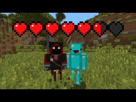 Minecraft But We Have COMBINED Hearts