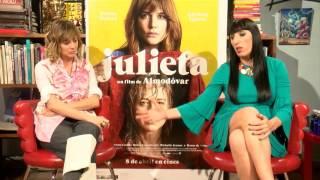 Emma Suárez y Rossy de Palma entusiasmadas con 'Julieta'