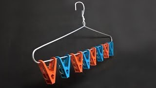 4 Life Hacks for Clothes Hanger