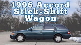1996 Honda Accord Wagon 5-Speed: Regular Car Reviews