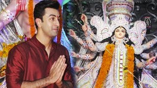 Ranbir Kapoor Attends Durga Puja With His BFF!