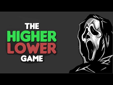 Ghostface plays The Higher Lower game