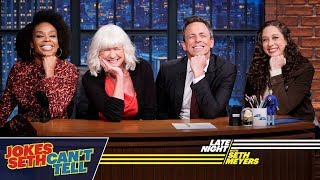 Jokes SethCan't Tell with Seth's Mom, Hilary Meyers