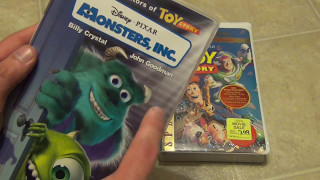 Disney VHS Unboxing Toy Story and Monster's Inc. Brand New!