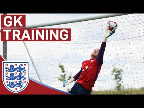 Incredible Reaction Saves from Hart, Pickford and Butland   GK Training   Inside Training