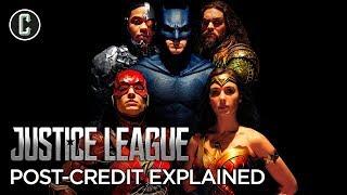 Justice League Post-Credit Scenes Explained