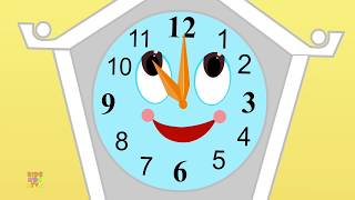 Hickory Dickory Dock | Nursery Rhymes | For Kids And Childrens