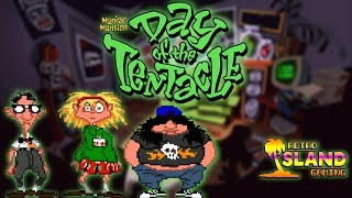 RIG - Day of the Tentacle Review Maniac Mansion 2 DOS