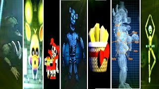 Five Nights at Freddy's: Sister Location All Easter Eggs & Secrets!