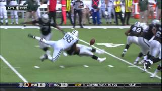 Maurice Jones-Drew Punts football!