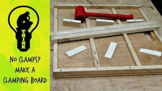 Make a simple wood clamping board // How To