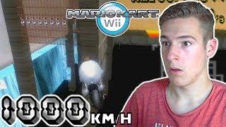 1000 km/h Custom Tracks!! - Insane Speed Mod! - Mario Kart Wii CTGP