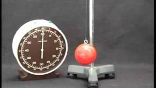 Péndulo simple: determinación de la aceleración de la gravedad