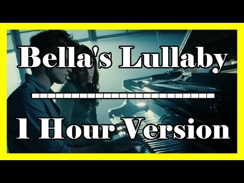 Bella's Lullaby (1 hour loop  1 hour extension) Twilight OFFICIAL Piano Version