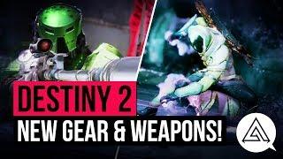 DESTINY 2 | New Gear, Weapons & Crucible Map - Trailer Breakdown