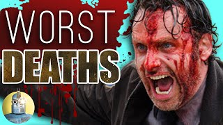 8 Terrible Deaths From The Walking Dead (@Cinematica)
