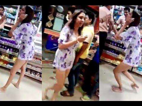 Xxx Mp4 POOJA KAND L Bigg Boss 8 Contestent Pooja Mishra Fighting Abusing With Store Staff 3gp Sex