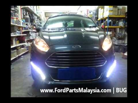 Ford Fiesta Daytime Running Light DRL With Turn Signal