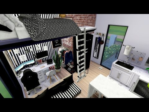 Xxx Mp4 The Sims 4 Couples Tiny Loft Apartment Speed Build Download Links 3gp Sex