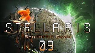 STELLARIS 1.8.2 #09 UPGRADE AQUATIC Stellaris Synthetic Dawn DLC - Let
