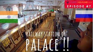 OMSK TRAIN STATION : Russian Railways through an Indian traveler's eyes - RZD