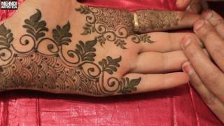 Easy Simple Unique Designer Henna Mehndi Designs For hands:Special Trendy mehendi Design 2017