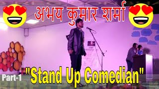 BEST MIMICRY-STAND UP COMEDY BY ABHAY KUMAR SHARMA(#1)||The Great Indian Laughter Challenge#Udbhav18