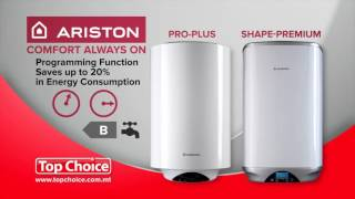 Ariston Water Heaters - Programming Function