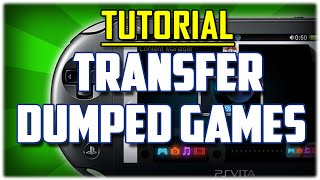 {Vitamin 3.60} How To Transfer Dumped Game Between PC & Vita Without FTP