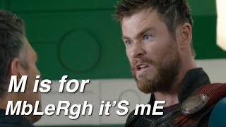 Learn the Alphabet with the Avengers