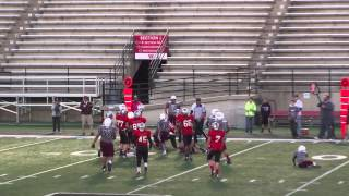 Tyler Wallace 2013 UNION SILVER 7th grade Highlights Undefeated season