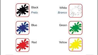Curso de inglês para crianças - Aula 8 - Colors