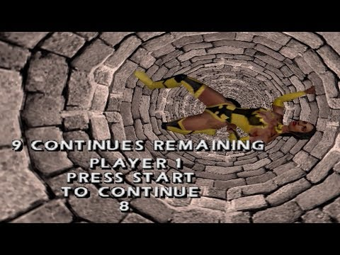 Mortal Kombat: Evolution of Game Over and Continue Screen - MK1 to MK9