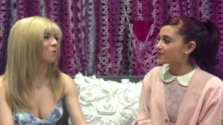 Ariana Grande and Jennette McCurdy Talk Love Interests on Nickelodeon's 'Sam and Cat'