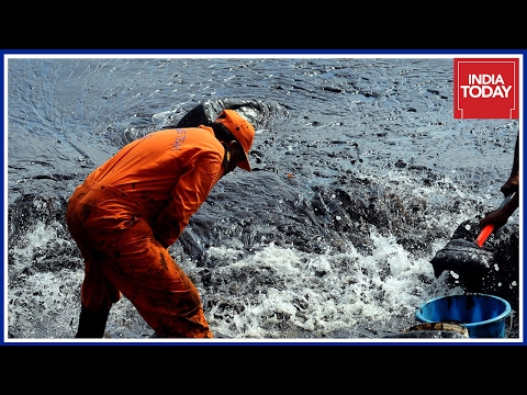 India Today Reports From The Site Of Oil Spill
