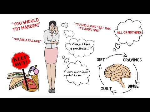 My Recovery From Bulimia and Orthorexia [Illustrated]
