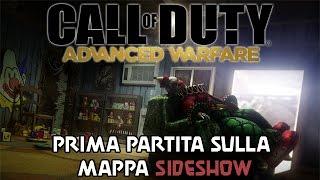 Prima partita sulla mappa SIDESHOW - DLC Havoc - COD Advanced Warfare Multiplayer Gameplay ITA