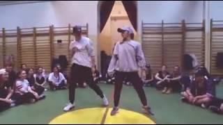 """""""Mek It Bunx"""" choreography by Mate Palinkas ft. Lilla Radoci"""