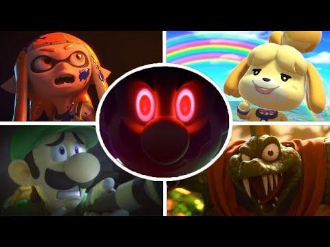 Super Smash Bros. Ultimate All Trailers