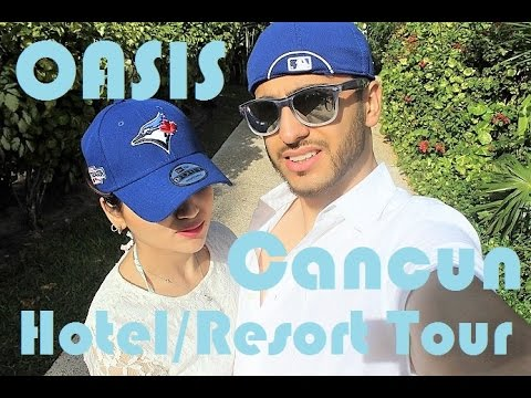 Travel Vlog Cancun Resort and Hotel Tour Grand Oasis Fictionally Flawless