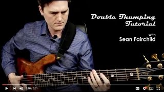 Double Thumbing / Thumping Slap Tutorial for Bass