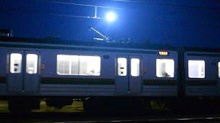 【スパーク】205系600番台 黒磯行き 蒲須坂~片岡間通過